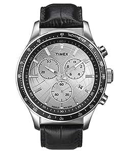 [タイメックス] TIMEX 時計 ウォッチ レザーバンド クロノグラフ T2N820 10気圧防水 メンズ【海外正規品】