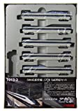 ロクハン Zゲージ T013-2 500系新幹線V編成 こだま 5両増結セット