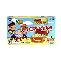 Operation Game Treasure Hunt Jake and the Neverland Pirates Edition
