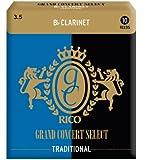 RICO リード グランドコンサートセレクト トラディショナル Bbクラリネット 強度:3.5(10枚入) RGC10BCL350