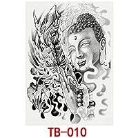 Murakush タトゥー ステッカー 入れ墨 テープ 通気性 防水 タトゥー·傷 隠し カバー コンシーラー 皮膚 装飾 diy メイクアップ 化粧 変装 アウトドア 男性 女性 ファッション TB-010 34×48cm