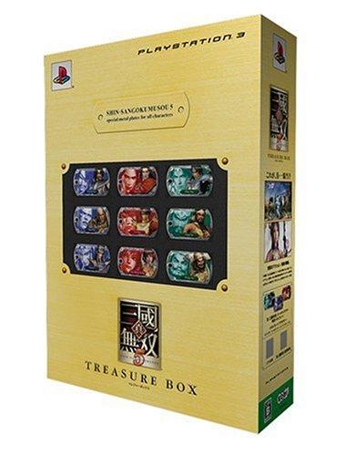 真・三國無双5 TREASURE BOX - PS3の詳細を見る