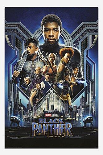 映画ポスター ブラックパンサー BLACK PANTHER 片面印刷 UK版 uk3 [並行輸入品]