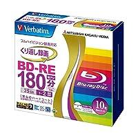 日用品 周辺機器 関連商品 (まとめ買い) 録画用BD-RE 25GB 2倍速 ワイドプリンターブル 5mmスリムケース VBE130NP10V1 1パック(10枚) 【×3セット】