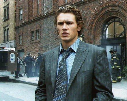 ブロマイド写真★『スパイダーマン2』ジェームズ・フランコ/事故現場に立つハリー