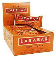 ララバー(Larabar) キャロットケーキ 1箱(45g x 16本) [海外直送][並行輸入品]