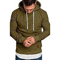 Men Hoodies Men Long Sleeve Autumn Winter Casual Sweatshirt Top Blouse Outwear