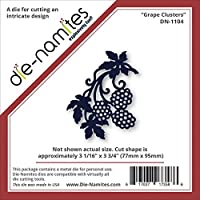 """Die-Namites Die-Grape Clusters, 3.062""""X3.75"""" (並行輸入品)"""