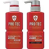 PRO TEC(プロテク) 頭皮ストレッチ シャンプー ポンプ 300g(医薬部外品)+ コンディショナー ポンプ 300g