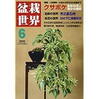盆栽世界 2008年 06月号 [雑誌]