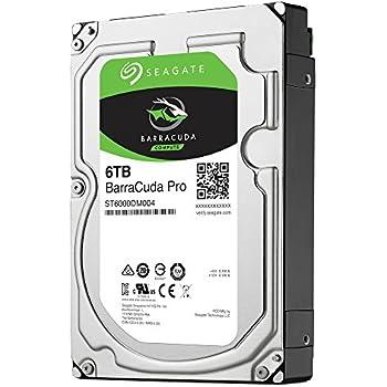"【Seagate正規代理店品 カラーパッケージ版】3.5""HighSpec内蔵HDD 6TB BarraCuda Proシリーズ ST6000DM004"