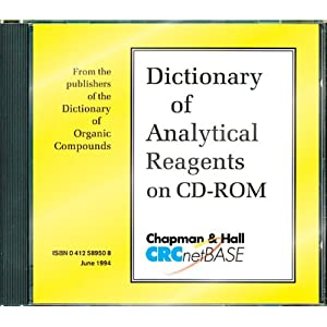 Dictionary of Analytical Reagents on CD-ROM