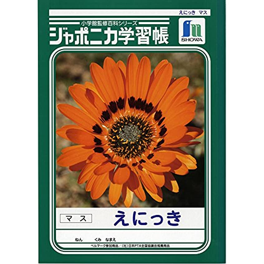 工業化するフットボール縫うショウワノート 学習帳 ジャポニカ 絵日記 B5 5冊パック JL-45*5