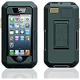 Moonmini®(ムーンミニ)Apple iPhone5 5S アップルアイフォン5 5S 防水 耐衝撃 ケースカバー アーマー 自転車サイクリング マウントホルダー付き 【並行輸入品】