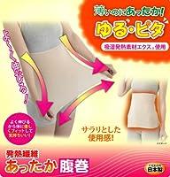発熱繊維 あったか腹巻 2枚セット(吸湿発熱素材エクス(R)使用 女性用腹巻き)