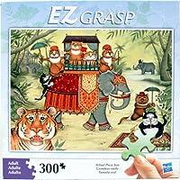 Hasbro EZ Grasp 300ピースパズル–Cats on an Elephant Party