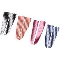 SONONIA  4ペア4色 1/6スケール 靴下  ストッキング  BJDブライスドール用