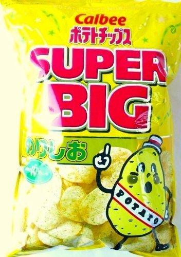 Calbee カルビー ポテトチップス のりしお スーパービッグ SUPER BIG 466g×2袋