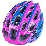 自転車ヘルメット 大人用/ジュニア アンチショツク 高剛性 軽量 サイクルヘルメット 通気性良い アジャスター付 調整可能 ロードバイク  オールシーズン スポーツ&アウトドア 54~62CM