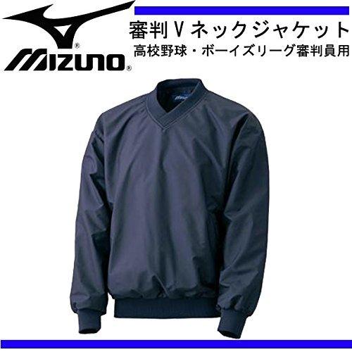 MIZUNO(ミズノ) 高校野球 審判用Vネックジャケット 52WU30514L ネイビー L