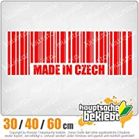 KIWISTAR - Made in Czech Barcode Prague 15色 - ネオン+クロム! ステッカービニールオートバイ