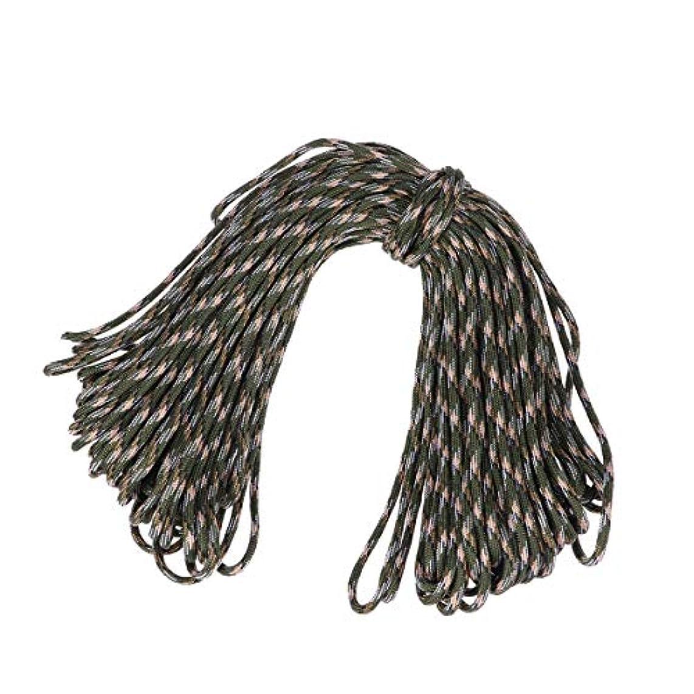 取り出す補助体操LIOOBO 30.5メートル パラコード パラシュートコード セブンコア傘ロープ製作キットナイロンミリタリーパラシュートコード
