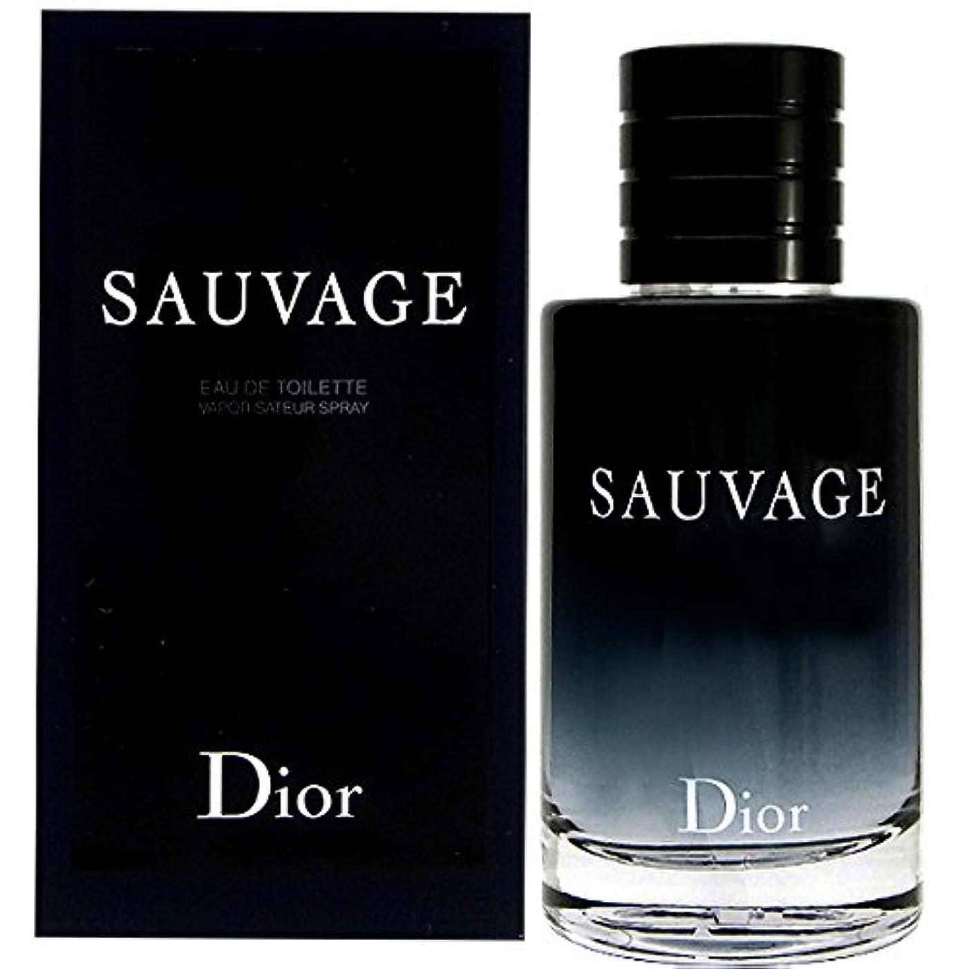 比喩うがい欠陥クリスチャンディオール Christian Dior ソヴァージュ 100ml EDT オードトワレ メンズ(香水) [並行輸入品]