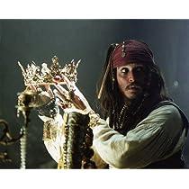 ブロマイド写真★『パイレーツ・オブ・カリビアン』冠を持つジャック・スパロウ(ジョニー・デップ)