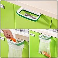 Stand Trash, Buedvo Kitchen Hanging Cupboard Cabinet Stand Storage Garbage Bags Rack