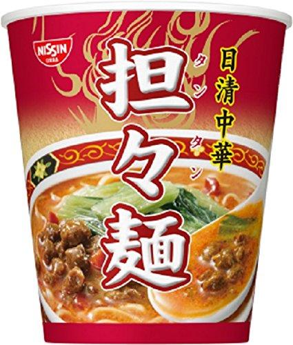 日清食品 日清中華 担々麺 71g×12個