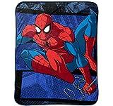 Marvel スパイダーマン Spiderman 大判 毛布 シルキータッチ 柔らかい肌触り ブランケット