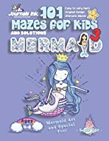 101 Mazes For Kids 3: SUPER KIDZ Book. Children - Ages 4-8 (US Edition). Mermaid and Unicorn custom art interior. 101 Puzzles with solutions - Easy to Very Hard learning levels -Unique challenges and ultimate mazes book for fun activity time! (Superkidz - 101 Mazes for Kids)