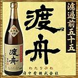 渡舟(わたりぶね) 純米吟醸 濾過前五十五 720ml ※要冷蔵