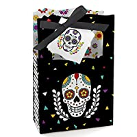 Day Of The Dead - Halloween Sugar Skull Party Favor Boxes - Set of 12 [並行輸入品]