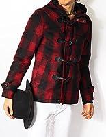 (リピード) REPIDO ダッフルコート メンズ ジャケット コート メルトン ウール ダッフル ショート丈 ミドル丈 メルトンダッフルコート ウールコート