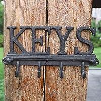 SLH カントリーレトロクラフト鍛鉄フック壁掛け壁KEYS Ornament Hook