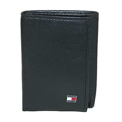 Tommy Hilfiger Men's Leather Oxford Slim Trifold Wallet