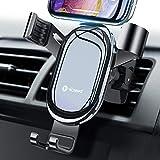 車載ホルダー 車載スマホホルダー スマホスタンド 車載ホルダーエアコン吹き出し口 車携帯スタンド 携帯ホルダー スマートフォン用 車あいふぉんホルダー 車用 スマホスタンド 車スマホほるだー 二代目改革開発 車内 スマホスタンド 脱着簡単 角度自由 片手操作 落下防止iPhone 11 Pro Max Xs Max Xr X 8 7 6 Plus,Samsung Galaxy Note Huawei シャップ LG Google Pixel など4.7 インチから6.5インチまで多種機対応
