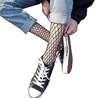 XINN ネットソックス 漁網の靴下 美脚ソックス 3種類 fishnet stockings ストッキング セクシーストッキング タイツ 網タイツ 春夏通用 (中網)