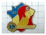 限定レア美品ピンズ 自由の女神ライオンズクラブLフランス革命