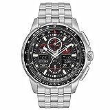 シチズン Citizen Eco-Drive JY8050-51E MenOs SKYHAWK A-T World Time Analog/Digital Watch [並行輸入品]