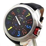 コグ COGU 腕時計 ジャンピングモデル 自動巻き 革バンド JHR BCL ブラックマルチ