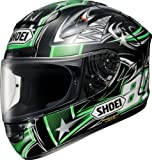 ショウエイ(SHOEI) ヘルメットX-TWELVE YANAGAWA2 TC-4(GREEN/BLACK) XS(53~~54cm)