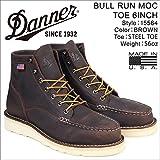 ダナー ブーツ BULL RUN MOC TOE 6INCH 15564 メンズ ブラウン US8.0-26.0 (並行輸入品)