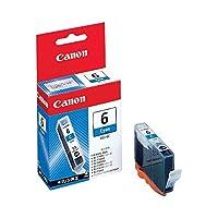 (まとめ) キヤノン Canon インクタンク BCI-6C シアン 4706A001 1個 〔×10セット〕