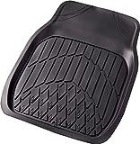 BONFORM ( ボンフォーム ) カーマット 防水バケットマット 3Dグランツ 普通車前席用 (48X65cm) ブラック 6395-01BK