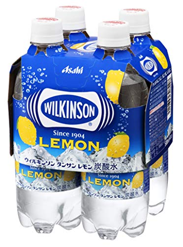 ウィルキンソン タンサン レモン4本パック4月CP 500×4