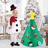 CCINEE クリスマスツリー  布製 折りたたみタイプ グリーン ヌードツリー 180cm 150cm 70cmおしゃれ 北欧 リアル 高濃密度 組立簡単 イベント用 収納便利 松かさ クリスマスグッズ インテリア用品 クリスマスプレゼントに最適 (布製タイプ)