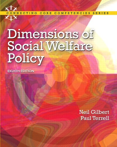 Download Dimensions of Social Welfare Policy (Connecting Core Competencies) 0205096891