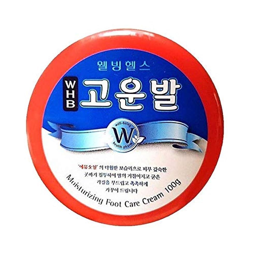 元気クロニクル行方不明コウンバル かかと用クリーム 尿素、エミューオイル配合クリーム 100g Korea cosmetic (moisturizing foot care cream 100g)
